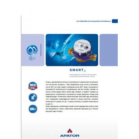 Katalog wodomierz Apator JS 6,3 DN 25