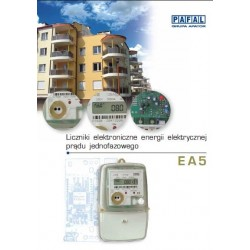 Energy meter Pafal 12EA5 Catalogue ENG
