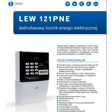Katalog licznik przedpłatowy 1 fazowy Apator LEW 121