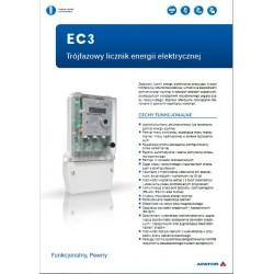 Katalog licznik energii 3 fazowy PAFAL 16EC3gr